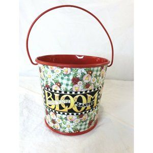 Mary Engelbreit bloom where youre planted Tin pail